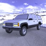 Chevrolet Suburban 1998 (for Wavefront OBJ)