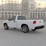 Chevy S10 Pickup 1998 (for Wavefront OBJ)