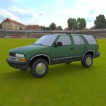 Click to see information about the 'Chevy S10 Blazer 1998 (for Wavefront OBJ)'.