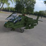 Apache AH-64 Helicopter (for DAZ Studio)