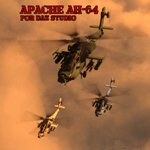 Click to see information about the 'Apache AH-64 Helicopter (for DAZ Studio)'.