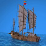 Chinese Junk (for Wavefront OBJ)
