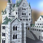 Neuschwanstein Castle (for DAZ Studio)