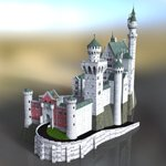 Click to see information about the 'Neuschwanstein Castle (for DAZ Studio)'.