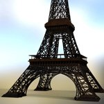 Eiffel Tower (for DAZ Studio)