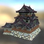 Hikone Castle (for DAZ Studio)