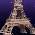 Eiffel Tower (for iClone)