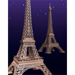 Click to see information about the 'Eiffel Tower (for iClone)'.
