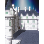 Click to see information about the 'Chateaux Azay le Rideau (for iClone)'.