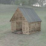 Corncrib (for DAZ Studio)
