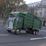 Click to see information about the 'Garbage Truck 2 (for Wavefront OBJ)'.