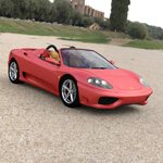 Click to see information about the 'Ferrari 360 Spider 2000 (for DAZ Studio)'.