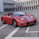 Click to see information about the 'Bugatti EB 110 (for DAZ Studio)'.