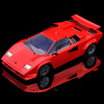 Click to see information about the 'Lamborghini Countach (for Poser)'.