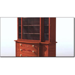 Click to see information about the 'Satinwood Bookcase C. 1790 (for 3D Studio Max)'.