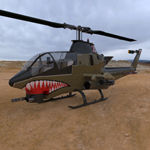 Click to see information about the 'AH-1 Cobra Helicopter (for 3D Studio Max)'.