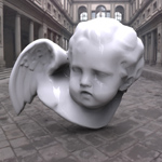 Angel Sculpture (for 3D Studio Max)