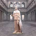 Click to see information about the 'Athena Statue (for 3D Studio Max)'.