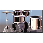 Ludwig Drum Set (for 3D Studio Max)
