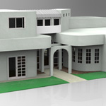 One and a Half Story Home (for 3D Studio Max)