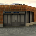 Auxiliar Building (for Poser)