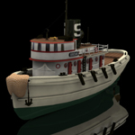 Click to see information about the 'Diesel Tug (for Poser)'.