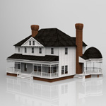 Click to see information about the 'Victorian House (for 3D Studio Max)'.