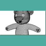 Teddy Bear 1 (for 3D Studio Max)