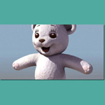 Click to see information about the 'Teddy Bear 1 (for 3D Studio Max)'.