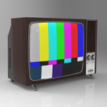 Television Set 1970 (for 3D Studio Max)