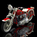 Harley Davidson EL Type 1936 (for Poser)