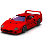 Click to see information about the 'Ferrari F-40 (for Poser)'.