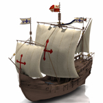 Click to see information about the 'Pinta (for Poser)'.