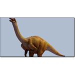 Click to see information about the 'Gallimimus (for 3D Studio Max)'.