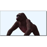 Click to see information about the 'Gorilla (for 3D Studio Max)'.