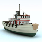 Click to see information about the 'Diesel Tug (for Vue)'.