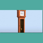 Click to see information about the 'Grandfather Clock (for 3D Studio Max)'.