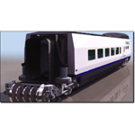 Click to see information about the 'Wagon Club Train (for 3D Studio Max)'.