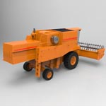 Combine Harvester (for 3D Studio Max)