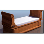 Click to see information about the 'Biedermeier Sleigh Bed (for 3D Studio Max)'.