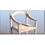 Click to see information about the 'Workbench Wooden Chair (for 3D Studio Max)'.