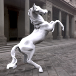 Click to see information about the 'Horse Statue (for 3D Studio Max)'.