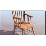 Click to see information about the 'Windsor Chair (for 3D Studio Max)'.