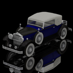 Click to see information about the 'Packard Car 1930 (for Poser)'.