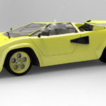 Lamborghini Countach (for 3D Studio Max)