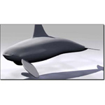 Killer Whale Male (for 3D Studio Max)