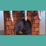 Click to see information about the 'Fireplace and Chimney (for 3D Studio Max)'.