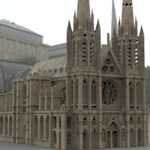Click to see information about the 'Clermont Cathedral (for 3D Studio Max)'.