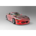 Dodge Viper (for 3D Studio Max)