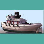 Click to see information about the 'Diesel Tug (for 3D Studio Max)'.